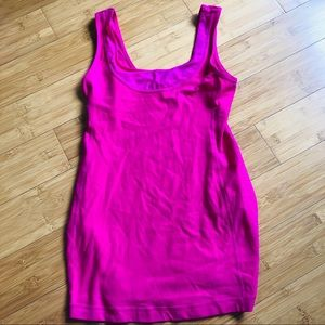 LULULEMON HOT NEON PINK TANK TOP